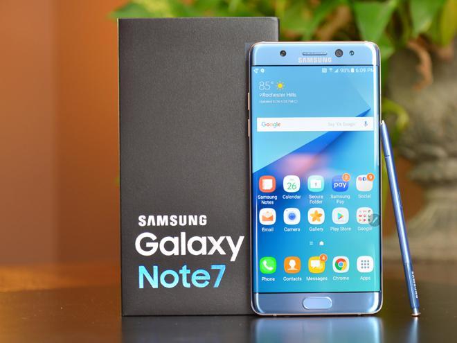 Galaxy Note7 tân trang